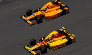 Alonso pleased to get 'stuck in traffic' at Indy