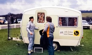 When a simple caravan was 'home away from home'