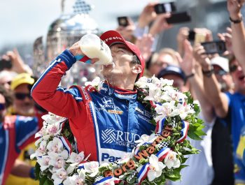 Sato wins Indy 500 after Alonso suffers engine heartbreak