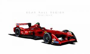 Is this Ferrari's future Formula E racer?