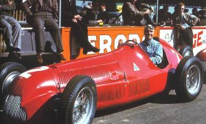 Farina wins inaugural F1 world championship race