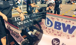 Force India crosses the T... thrice!