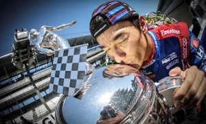 Sato reflects on his Indy 500 success