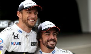 Button to Alonso: 'I'm gonna pee in your seat!'