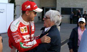 Ecclestone delighted with Ferrari resurgence