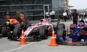Red Bull and Force India not on-track rivals