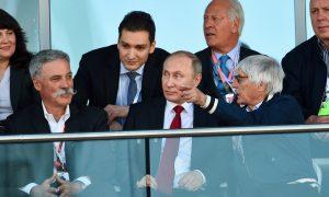 Bernie praises Putin for Sochi success