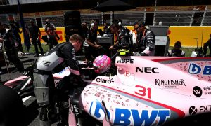 Force India complies with larger number display rule