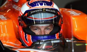 Button thrilled by 'last qualifying session'