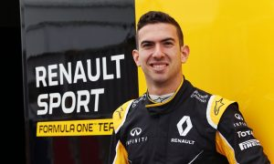 Renault test driver Nicholas Latifi gets RS17 outing