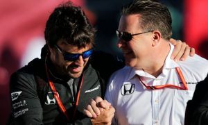 Alonso lauds 'genius' Brown's leadership at McLaren