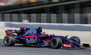 Friday was 'a learning day' for Toro Rosso
