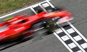 Ferrari duo frustrated by tricky conditions