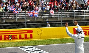 Hamilton delighted to top 'intense' qualifying