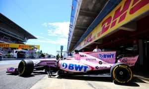 Force India hit with €25,000 suspended fine