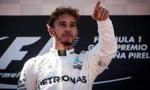 Hamilton was pushed to the edge physically on Sunday