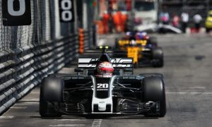 Haas rewarded with first double-points finish