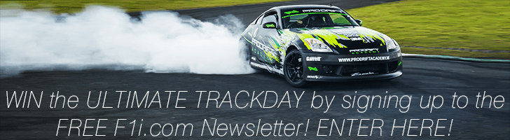 WIN the ULTIMATE TRACKDAY by signing up to the FREE F1i.com Newsletter! ENTER NOW!