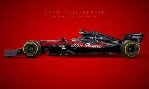 A McLaren-Alfa Romeo which looks quite the part