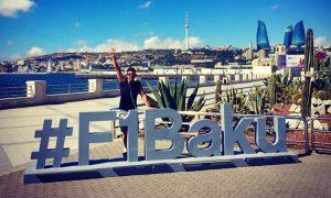 On to sunny Baku for Fernando!