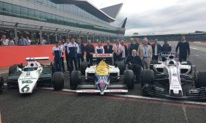 Williams commemorates 40 years of F1 with day out at Silverstone