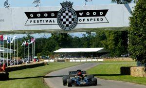 Ecclestone gets iconic status at Goodwood FOS