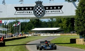 Ecclestone gets iconic status at Goodwood FOS