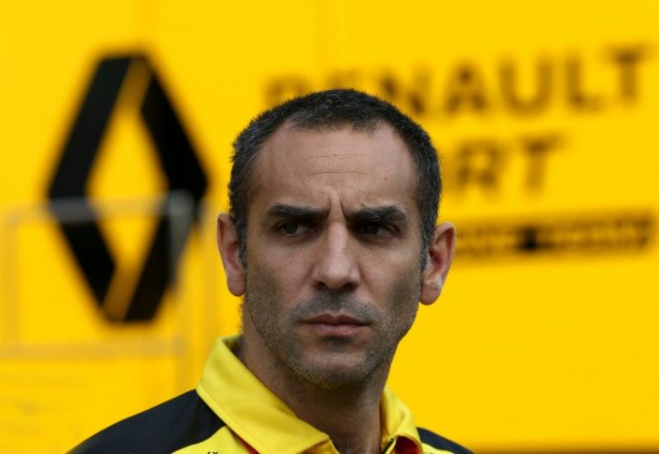 Cyril Abiteboul, Renault Sport Racing Managing Director, Italian Grand Prix
