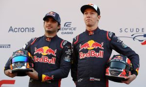 Have Kvyat and Sainz fallen out with each other?