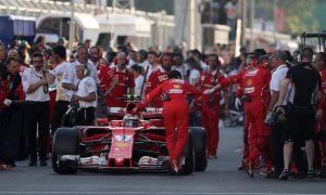Raikkonen blames Bottas for first lap collision