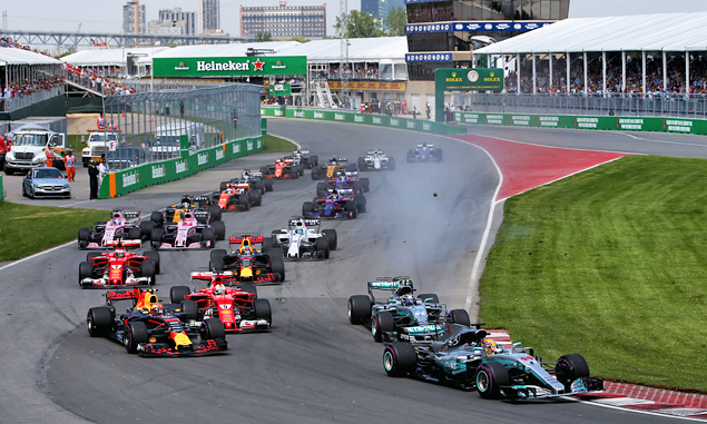 Officials approve F1 calendar for 2018