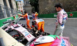 Perez shrugs off 'messy day' in Baku