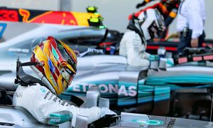 'Pumped' Hamilton leaves Bottas disappointed in qualifying