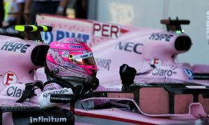 Esteban Ocon enjoys best career quali in Baku