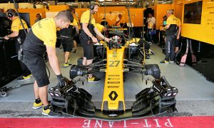 Tough day at the office for Hulkenberg and Palmer