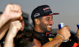Ricciardo 'giggled like a little schoolboy' after Baku win