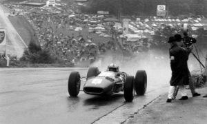 Surtees wins rain-drenched Belgian GP
