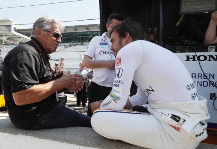 Mario Andretti: F1 great Fernando Alonso should consider full-time IndyCar ride