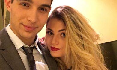 Esteban Ocon and Alice Brasseur