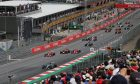Austrian GP Race Start