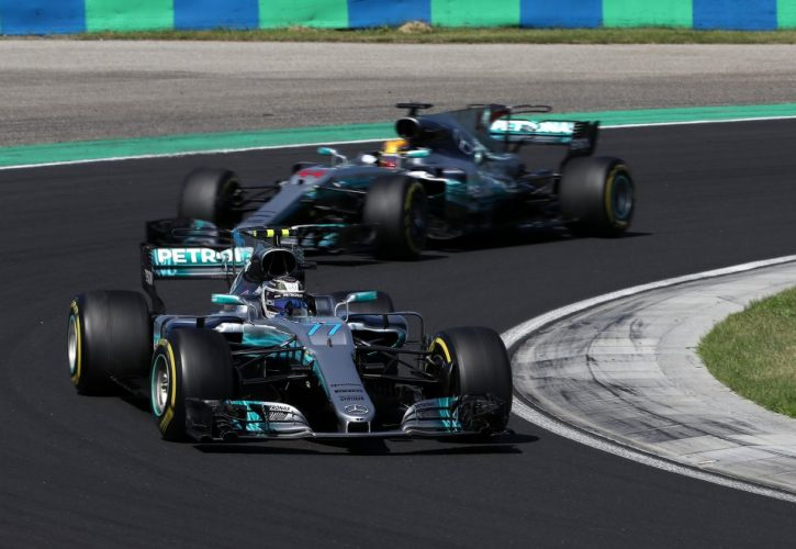 Bottas-Hamilton-Mercedes