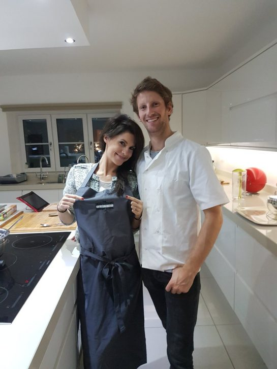 Romain and Marion Grosjean
