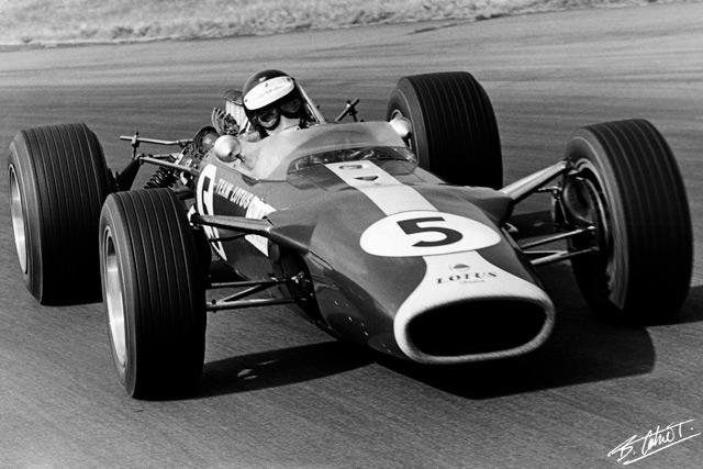 Jim Clark-Silverstone 1967