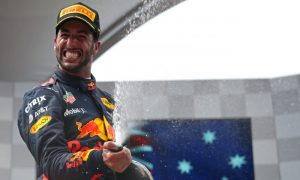 Ricciardo: 'Five podiums in a row is awesome!'