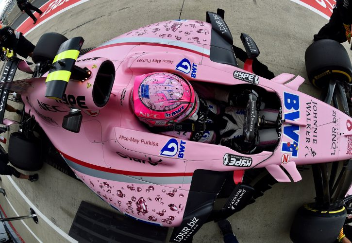 Mazepin and Auer get seat time with Force India