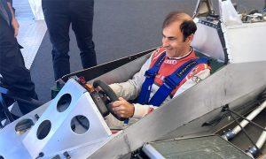 Six-wheel fun at Goodwood for Pirro