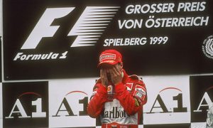 Ferrari's Eddie Irvine assumes the mantle
