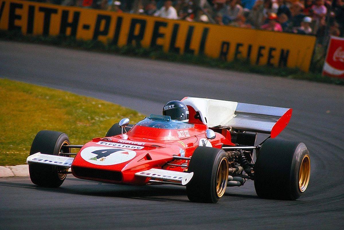 Jacky Ickx-German Grand Prix 1972