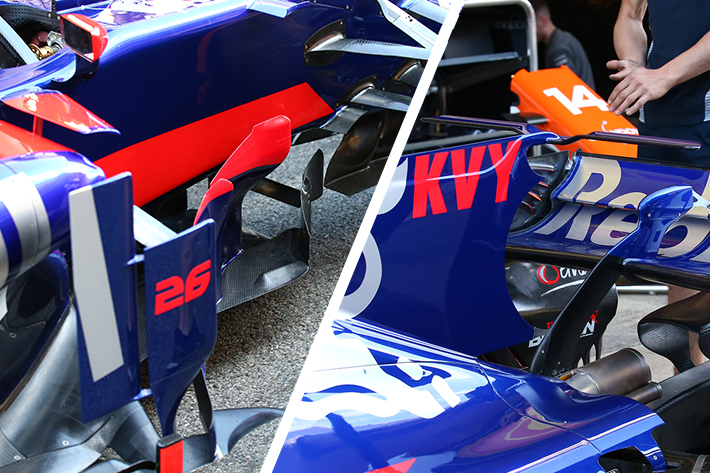 Toro Rosso STR12 Technical Development