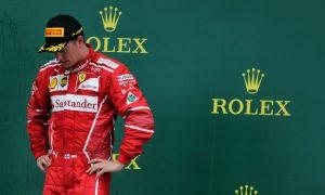 Ferrari puts Kimi Raikkonen's back to the wall for 2018
